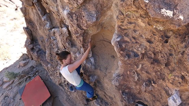 Climbing Movement: 21. Side Pulls