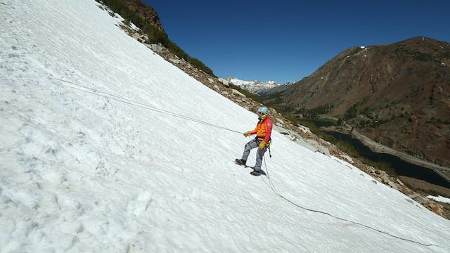Alpine: 28. Rappelling with Crampons ...