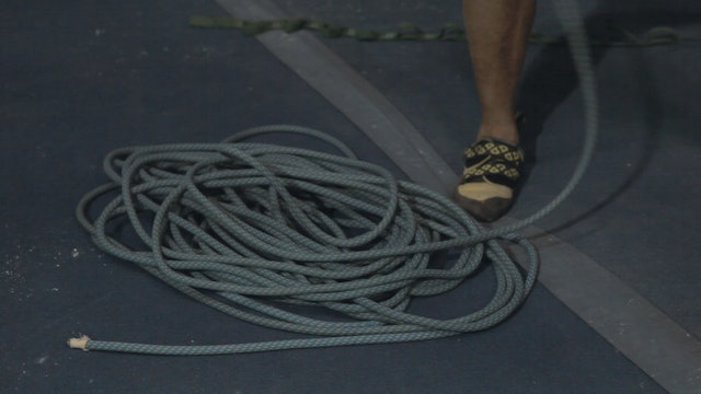 Gym Lead Climbing: 13. Stacking the Rope