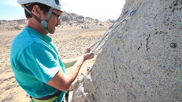 Basic & Intermediate Outdoor Climbing: 8. Top Rope Anchor - The Sliding X