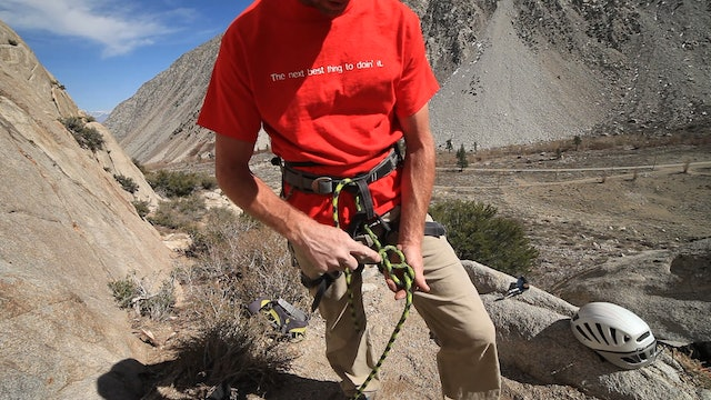 Basic & Intermediate Outdoor Climbing: 2. How to Tie-in with a Figure-Eight Knot