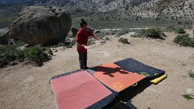 Bouldering: 2. Leveling Pads