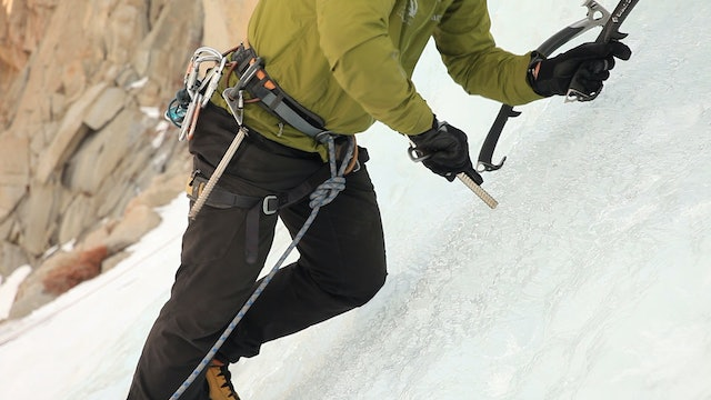 Ice Climbing: 13. Placing Ice Screws