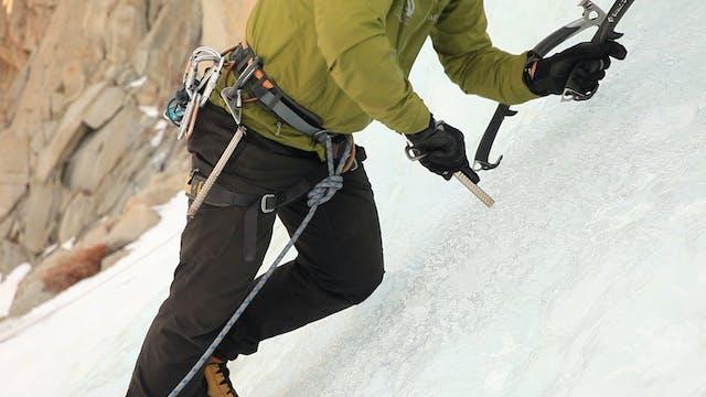 Ice Climbing: 13. Placing Ice Screws