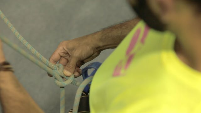 Gym Top Rope Climbing: 3. How to Tie ...