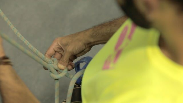 Gym Top Rope Climbing: 3. How to Tie in to your Harness