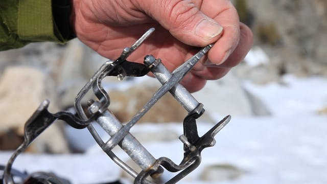 Ice Climbing: 15. Sharpening Crampons...