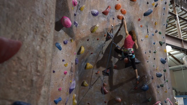 Gym Lead Climbing