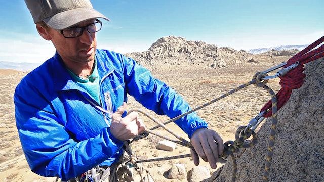 Advanced Rockcraft - How to Escape the Belay—Off your harness
