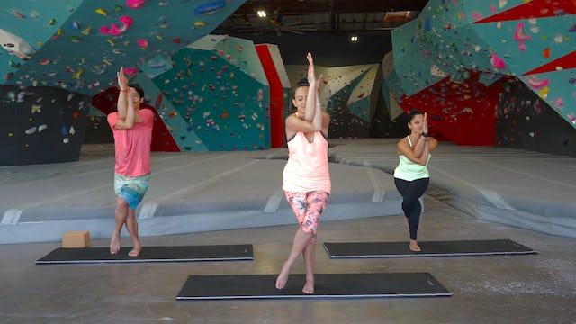 Yoga & Stretching for Climbing - Beginner Balance Series