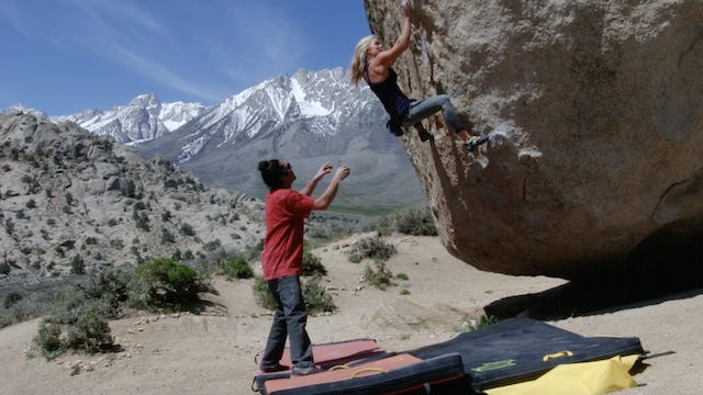 Bouldering: 3. Pad Placement and Spotting