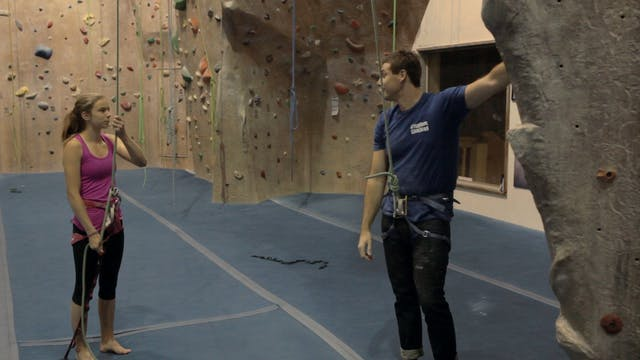 Gym Top Rope Climbing: 7. Verbal Comm...