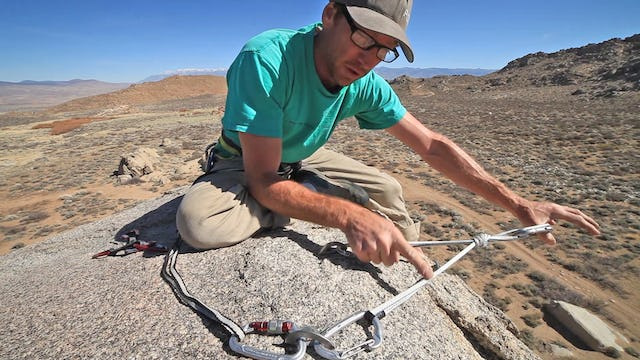 Basic & Intermediate Outdoor Climbing: 4. Top Rope Anchor Safety Considerations - SRENE