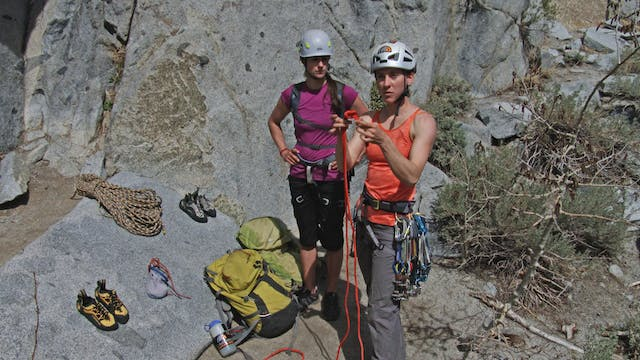 Multi-Pitch Trad: 10. Tying & Racking...