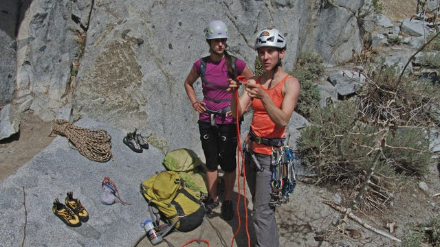 Multi-Pitch Trad: 10. Tying & Racking a Cordelette
