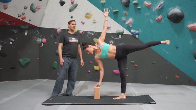 Yoga & Stretching for Aretes & Balance