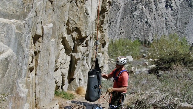 Aid Climbing: 17. Lead Ropes & Haul Lines