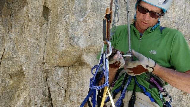 Aid Climbing: 9. Backups for Jumaring and Cleaning