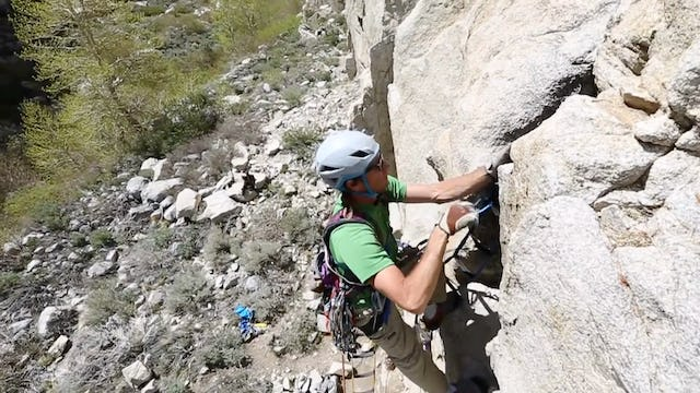 Aid Climbing: 16. Aid Climb Like You Lead - Free Climb