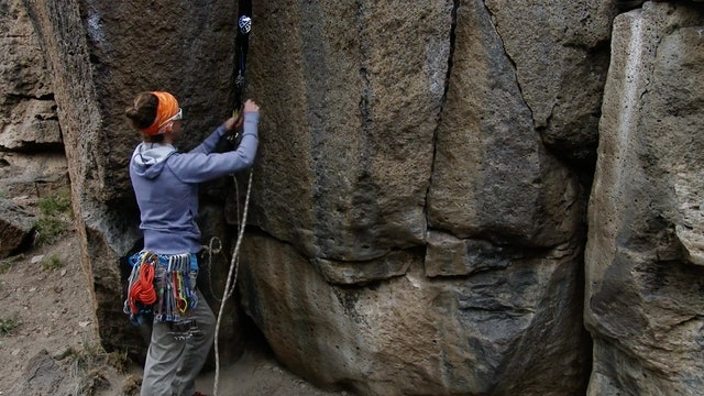 Traditional Climbing: 14. Alternative Trad Anchor - Consideration #1