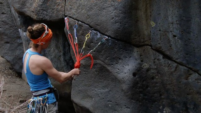 Traditional Climbing: 17. Combining Optimal Anchor Placements with Marginal Gear