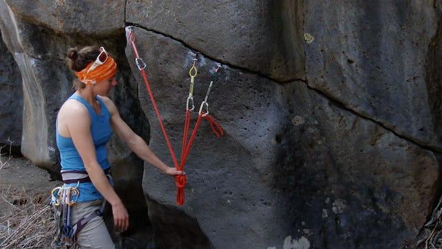 Traditional Climbing: 18. Horizontal Trad Anchor