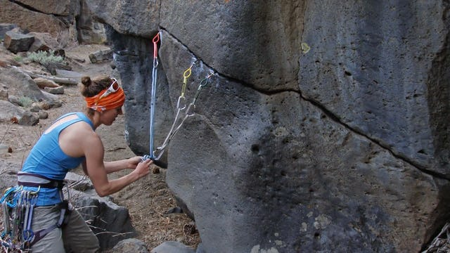Traditional Climbing: 16. Trad Anchors with Slings vs. Cordelettes