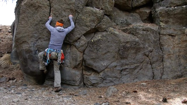 Traditional Climbing: 4. Toe Jamming