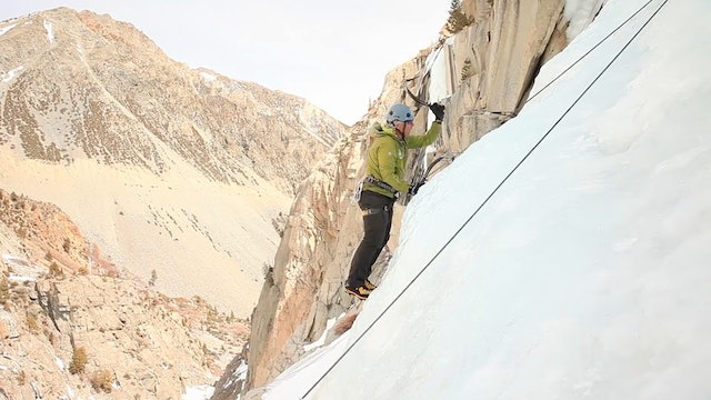 Ice Climbing: 9. Climbing Over Bulges (Mantling)