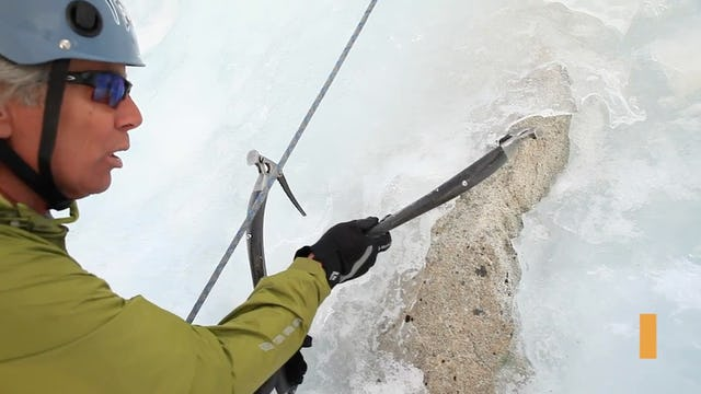 Ice Climbing: 10. Hooking With Your Ice Tools