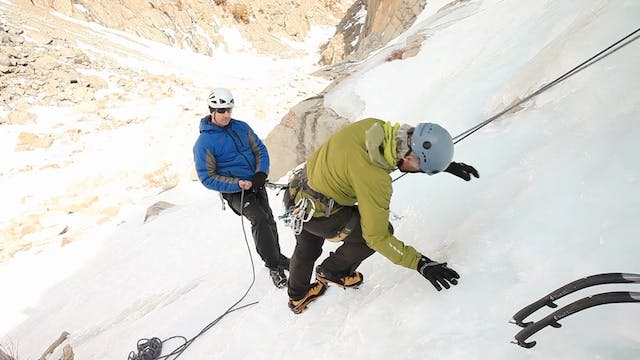 Ice Climbing: 8. Quick Foot Techniques