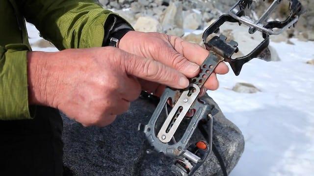 Ice Climbing: 5. Wearing & Adjusting Crampons