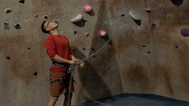 Gym Lead Climbing: 10. Lead Belaying