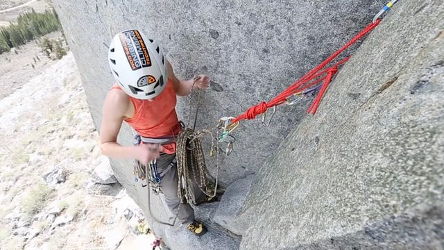 Multi-Pitch Trad: 2. Belay Transitions