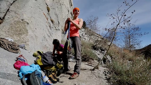 Multi-Pitch Trad: 7. Racking up for the Climb