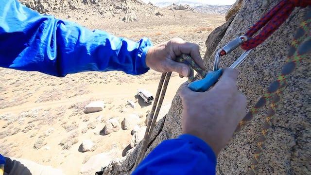 Basic & Intermediate Outdoor Climbing: 10. Direct Belay using an Auto-Block Device