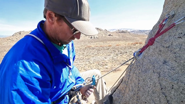 Basic & Intermediate Outdoor Climbing: 9. How To Belay From Above