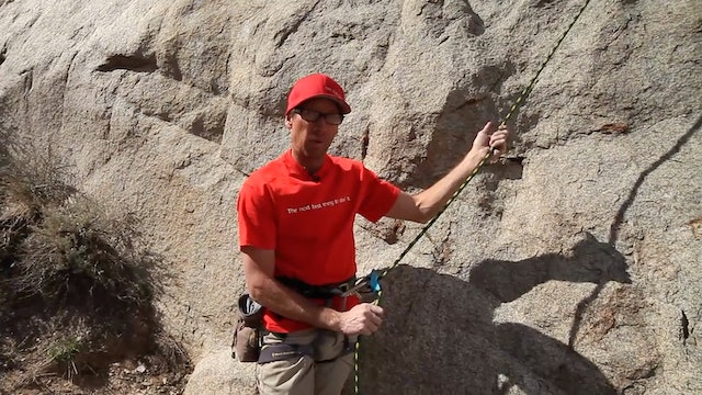 Basic & Intermediate Outdoor Climbing: 3. Top Rope Belay Basics
