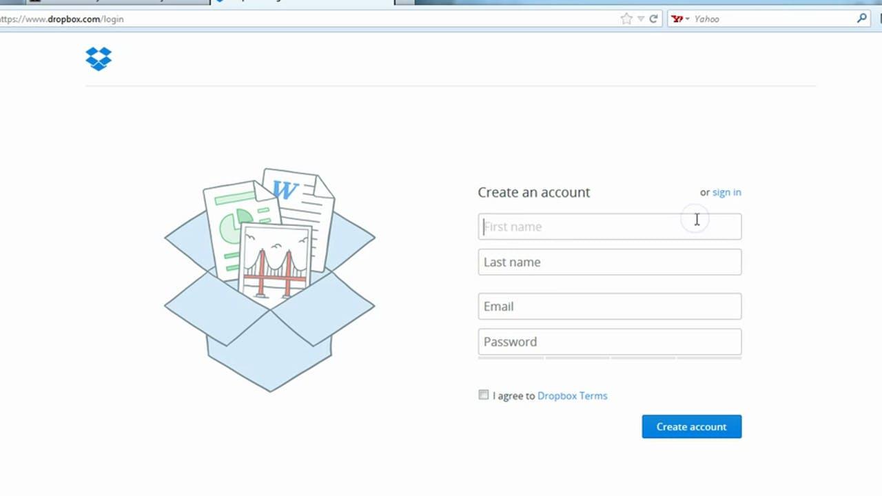 Intro to Dropbox Interface - Cloud Hosting with Dropbox com