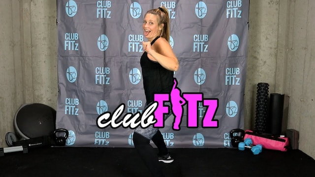 Club FITz Session 1: 30 Min Booty-Focused Dance FITzness Workout