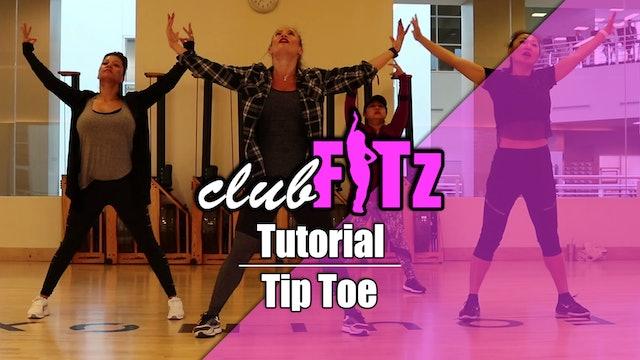 Tutorial of Tip Toe by Jason Derulo