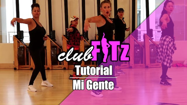 Tutorial of Mi Gente by J Balvin & Wi...