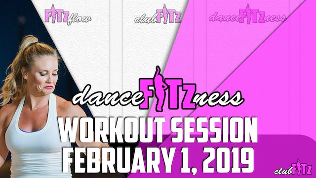 Dance FITzness Live Replay | February...