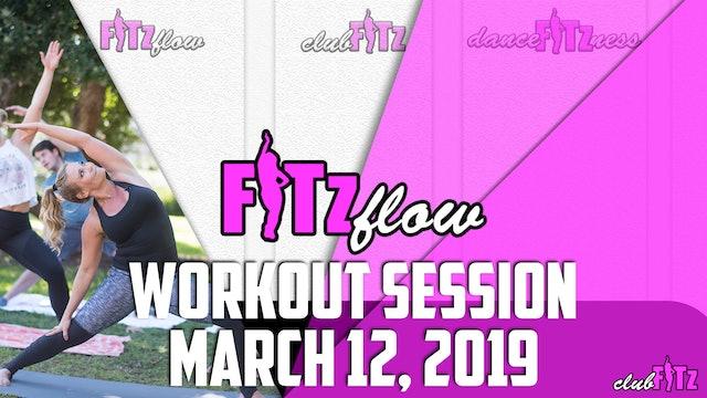 FITz FLOW | March 12, 2019
