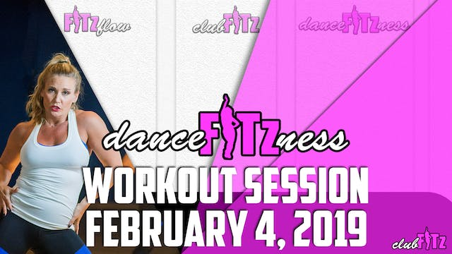 DANCE FITzNESS FEB 4TH