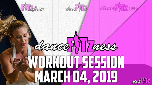 MONDAY MARCH DANCE FITzNESS MADNESS