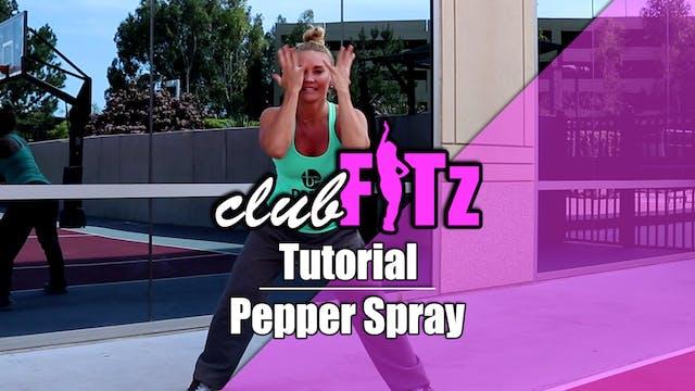 Tutorial of Pepper Spray by Dawin