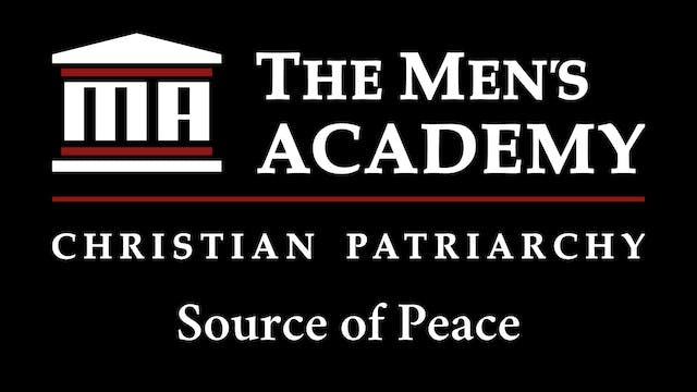 Academy Brief:  Source of Peace