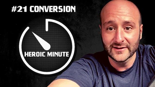 #21 Conversion