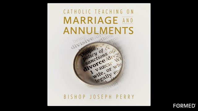 Catholic Teaching on Marriage & Annul...
